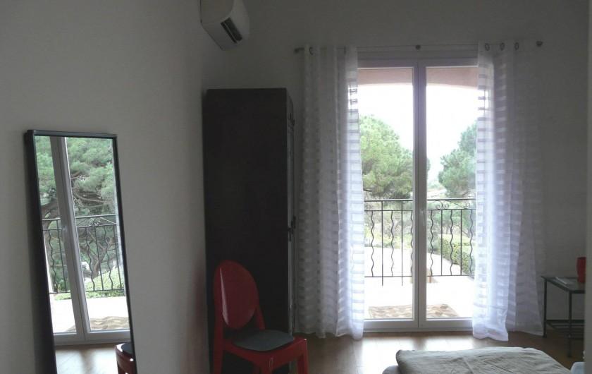 Location de vacances - Appartement à Ramatuelle - Chambre 3.1