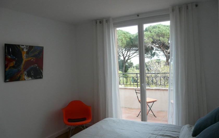 Location de vacances - Appartement à Ramatuelle - Chambre 2.1
