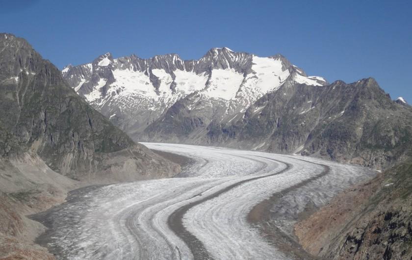 Location de vacances - Chalet à Bellwald - Glacier d'Aletsch
