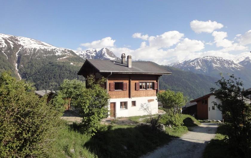Location de vacances - Chalet à Bellwald - Chalet Stefanino