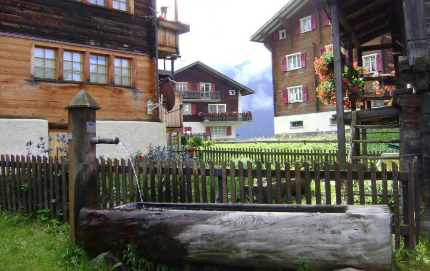 Location de vacances - Chalet à Bellwald - Belllwald - le vieux village Walser