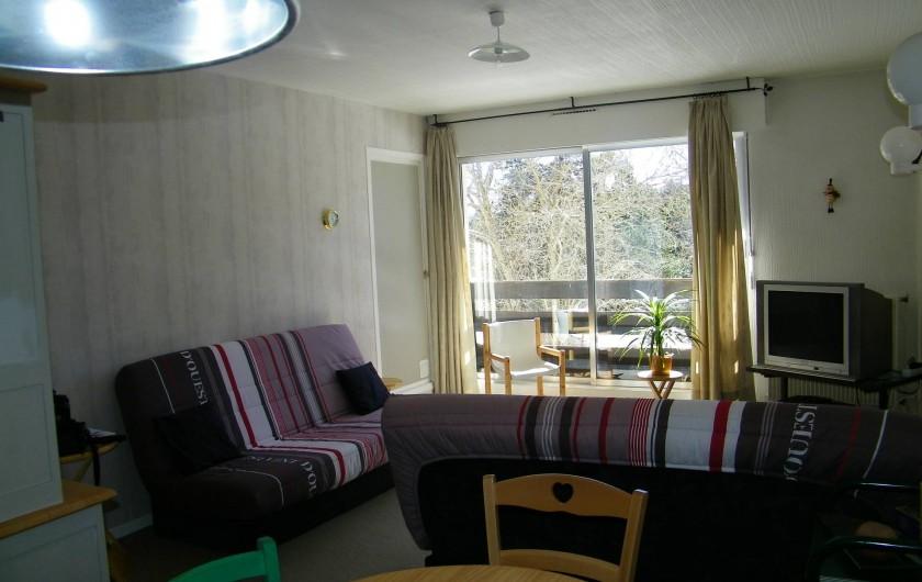 Location de vacances - Appartement à Superbolquère - Séjour