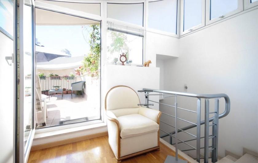 Location de vacances - Villa à Vila Olímpica - Sortie à la terrasse du 3ème étage