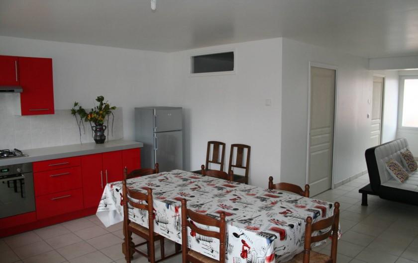 Location de vacances - Maison - Villa à Wissant - Salle à manger