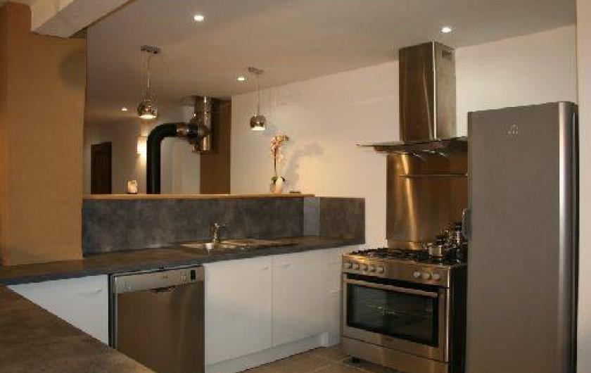 Location de vacances - Chambre d'hôtes à Le Clerjus - La cuisine