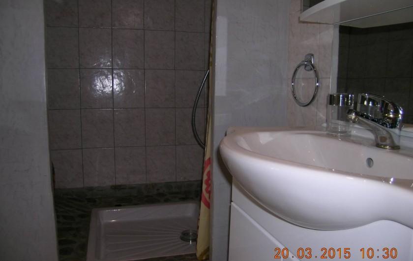 Location de vacances - Appartement à Bessèges - Salle d'eau