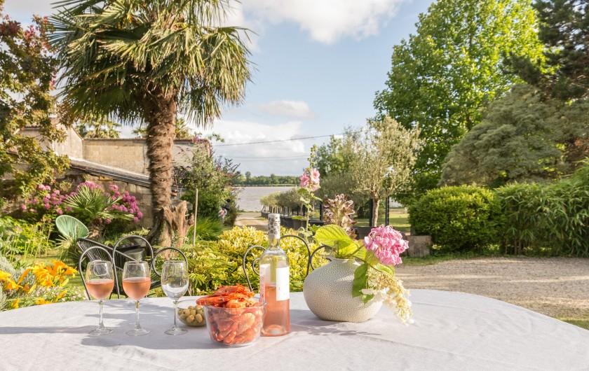 Location de vacances - Gîte à Bourg sur Gironde - Maison
