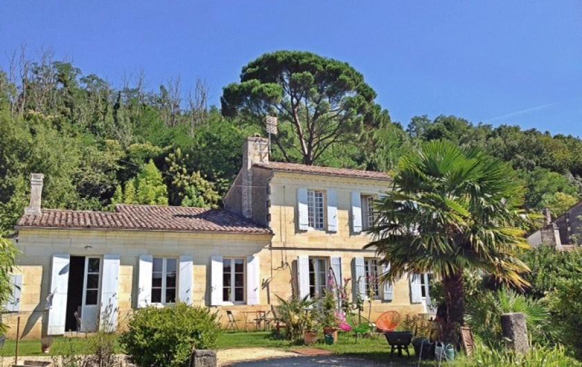 Location de vacances - Gîte à Bourg sur Gironde - vue générale du pain de Lune