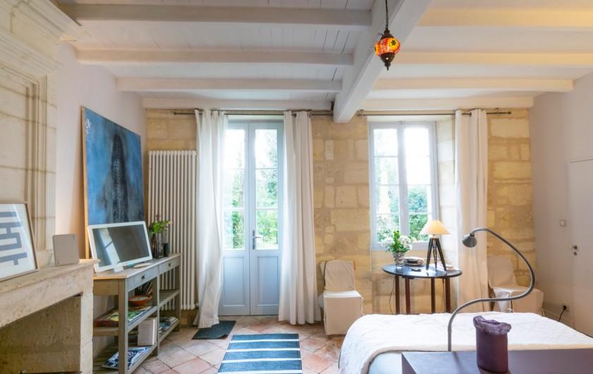 Location de vacances - Gîte à Bourg sur Gironde - La chambre d'hôtes