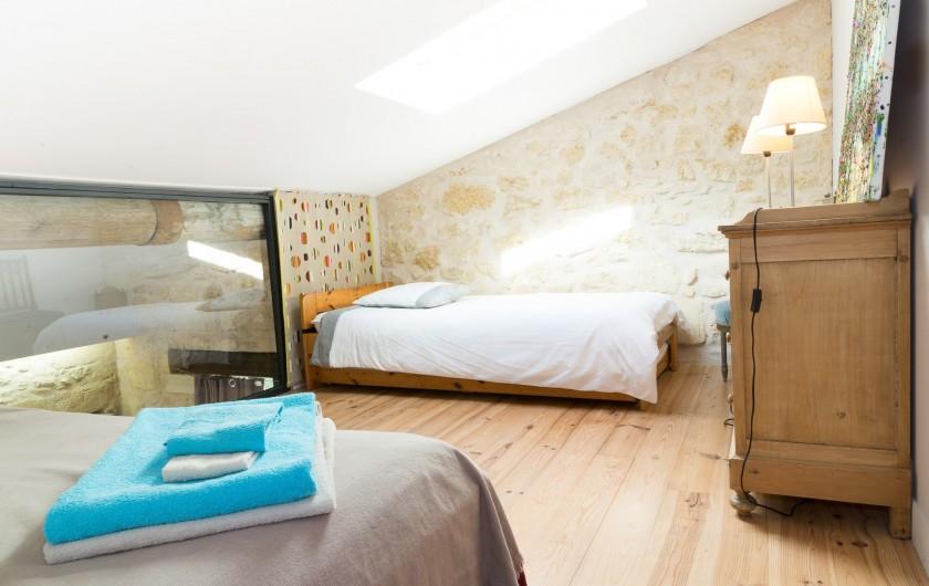 Location de vacances - Gîte à Bourg sur Gironde - chambre enfants