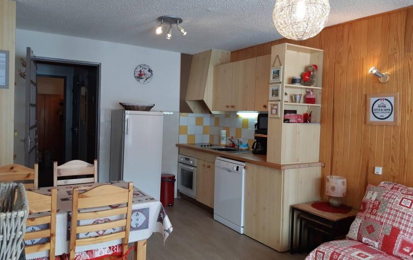 Location de vacances - Appartement à Risoul - Coin cuisine