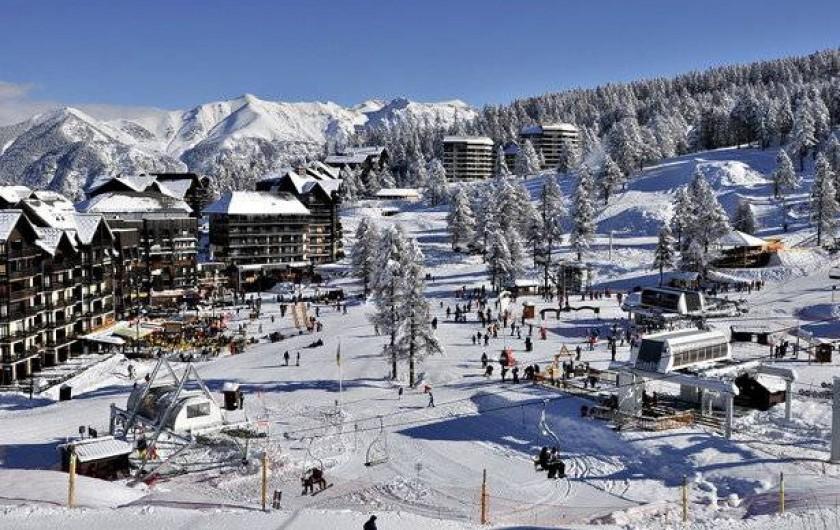 Location de vacances - Appartement à Risoul - Front de neige