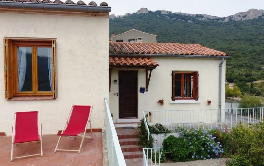Location de vacances - Appartement à Perpignan - Maison calme, vue imprenable sur la vallée