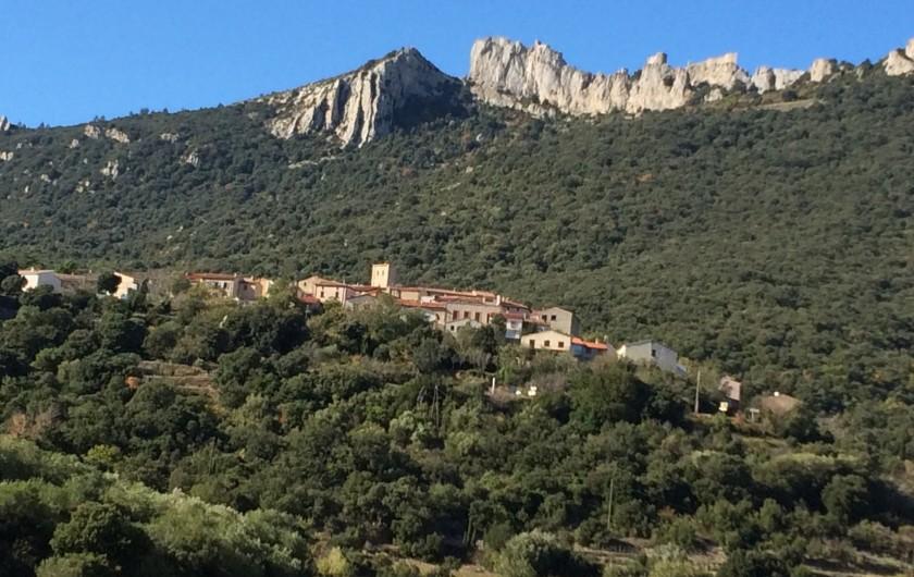 Location de vacances - Appartement à Perpignan - Arrivée depuis Cucugnan.