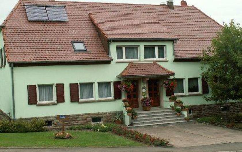 Location de vacances - Appartement à Adamswiller
