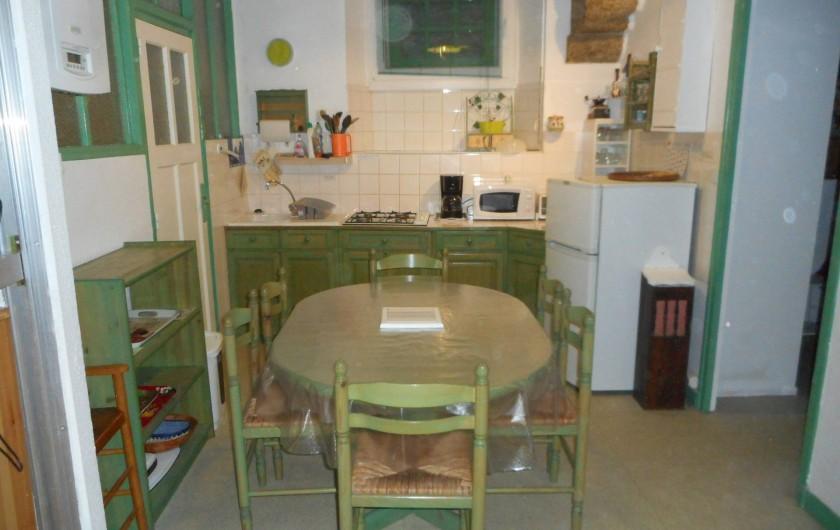 Location de vacances - Appartement à Saint-Malo - Cuisine intégrée