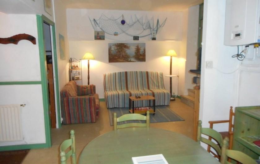 Location de vacances - Appartement à Saint-Malo - Coin salon