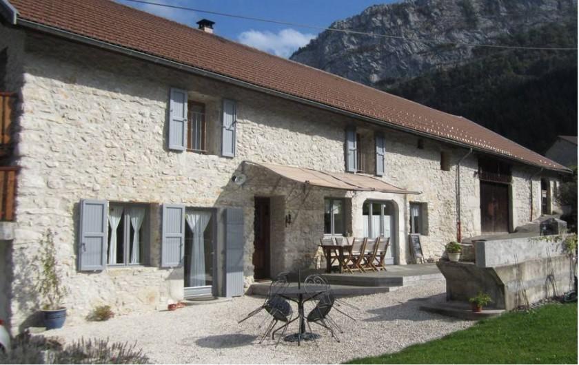 Location de vacances - Chambre d'hôtes à Saint-Julien-en-Vercors - Bienvenue à La Grange à Mireille