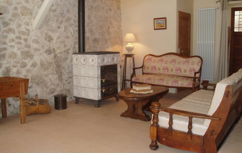 Location de vacances - Chambre d'hôtes à Saint-Julien-en-Vercors - Le Salon 2