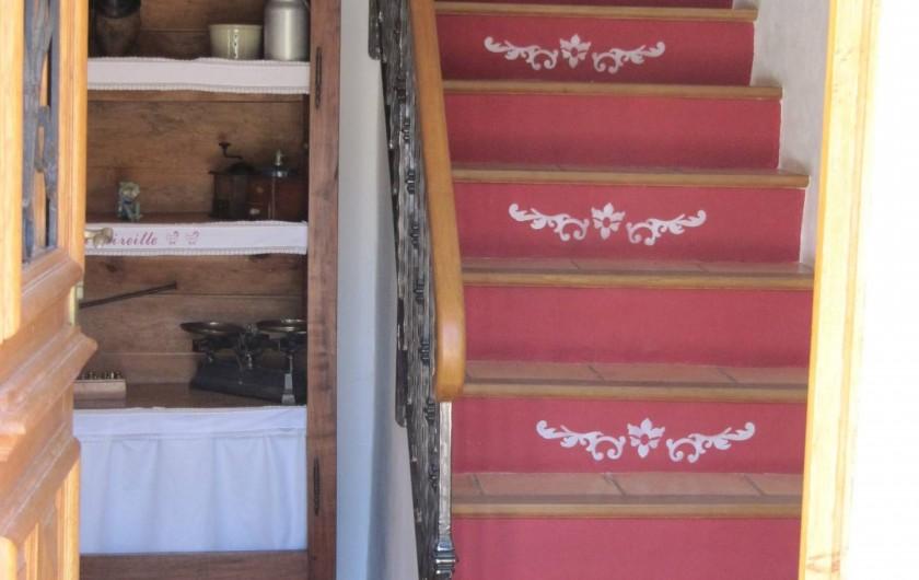 Location de vacances - Chambre d'hôtes à Saint-Julien-en-Vercors - L'Entrée