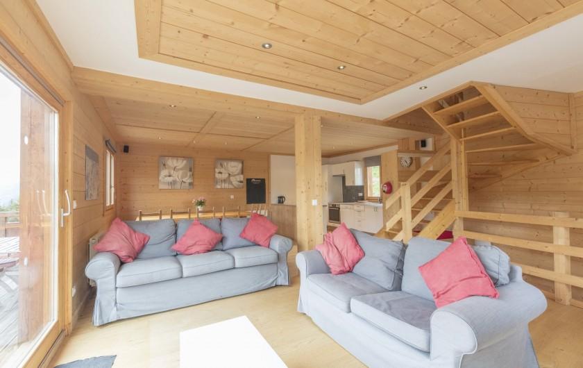 Location de vacances - Chalet à Montgenèvre - Living