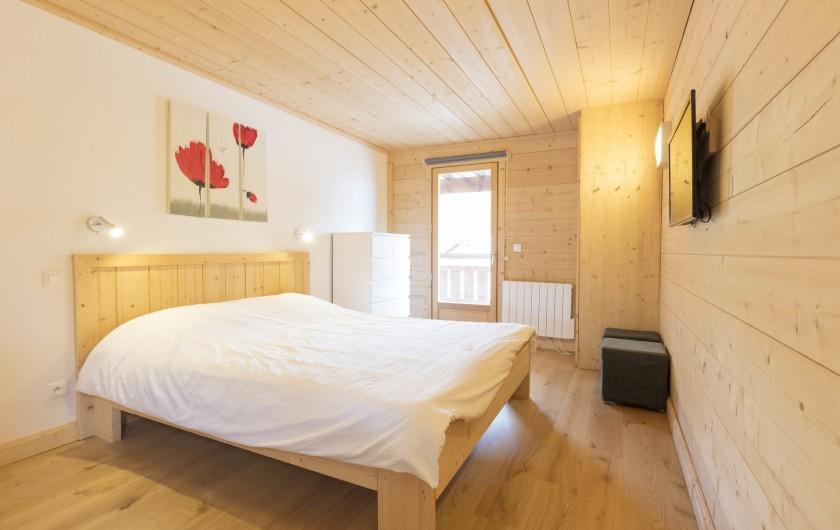 Location de vacances - Chalet à Montgenèvre - Chambre 1