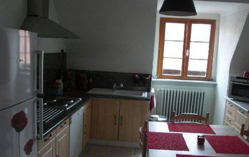 Location de vacances - Appartement à Bennwihr