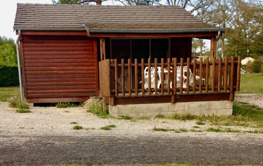 Location de vacances - Chalet à Servières-le-Château - Chalet