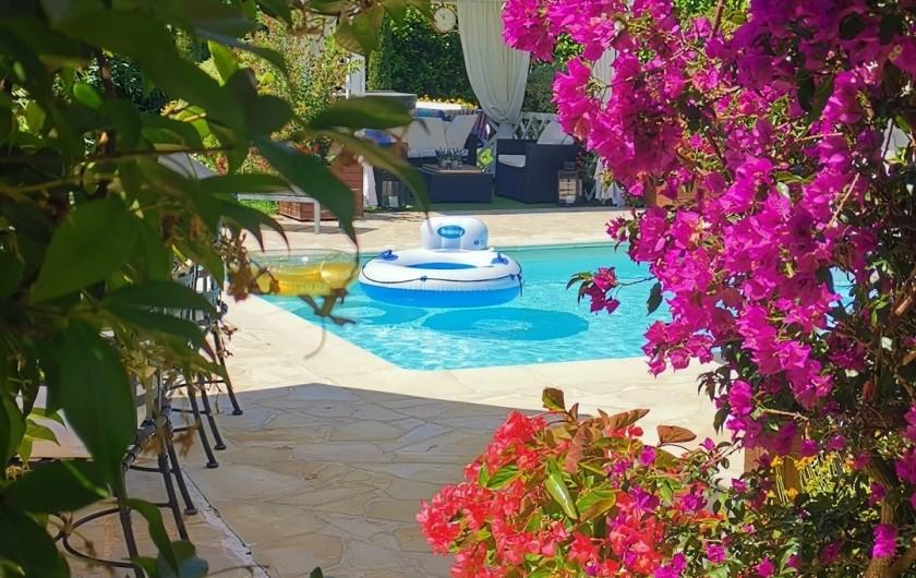 Location de vacances - Villa à Le Cannet - PISCINE