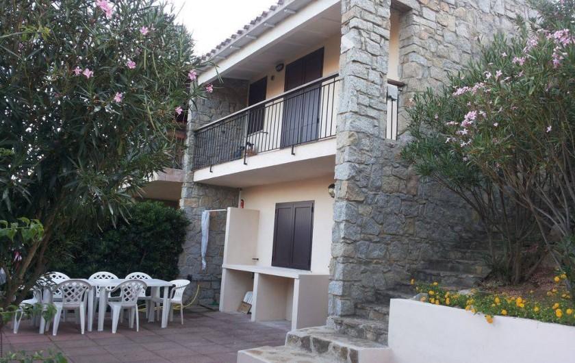 Location de vacances - Maison - Villa à Solanas - Dalle ore 12 la casa e' tutta in ombra