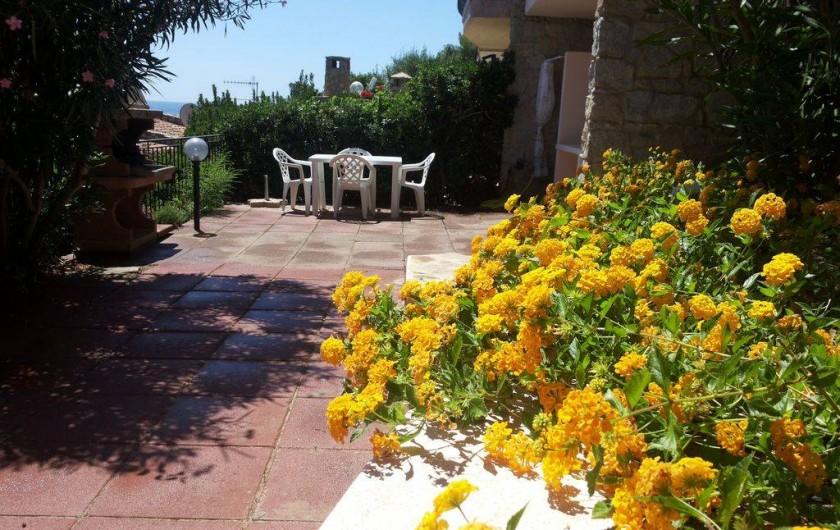 Location de vacances - Maison - Villa à Solanas - Si mettono gli sdrai