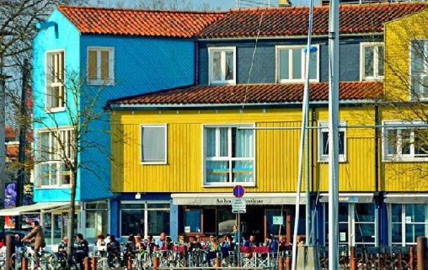 """Location de vacances - Appartement à La Rochelle - Quartier """"Le Gabut"""" La Rochelle"""