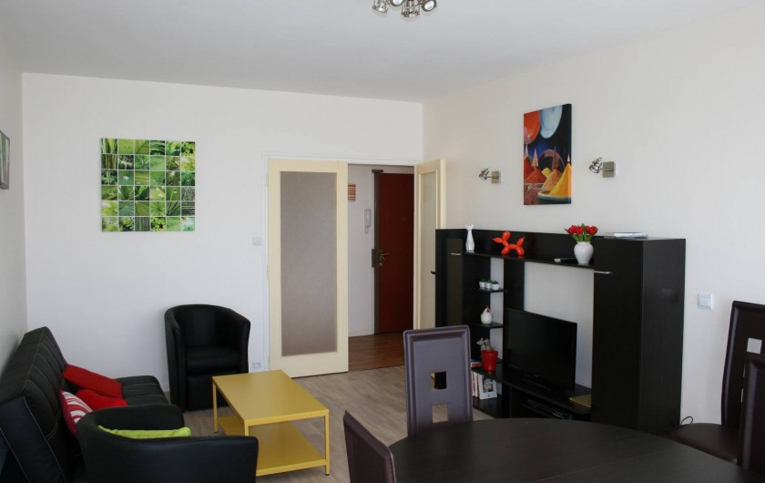 Location de vacances - Appartement à La Rochelle - Salle de séjour