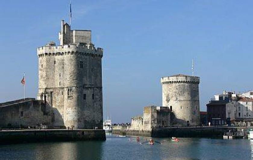 Location de vacances - Appartement à La Rochelle - Les Tours de La Rochelle