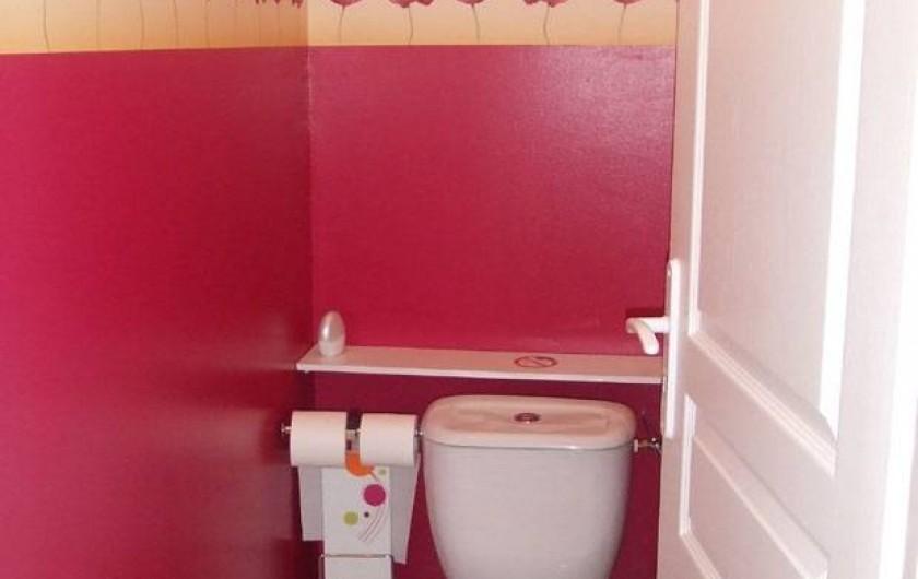 Location de vacances - Villa à Grosseto-Prugna - WC indépendant