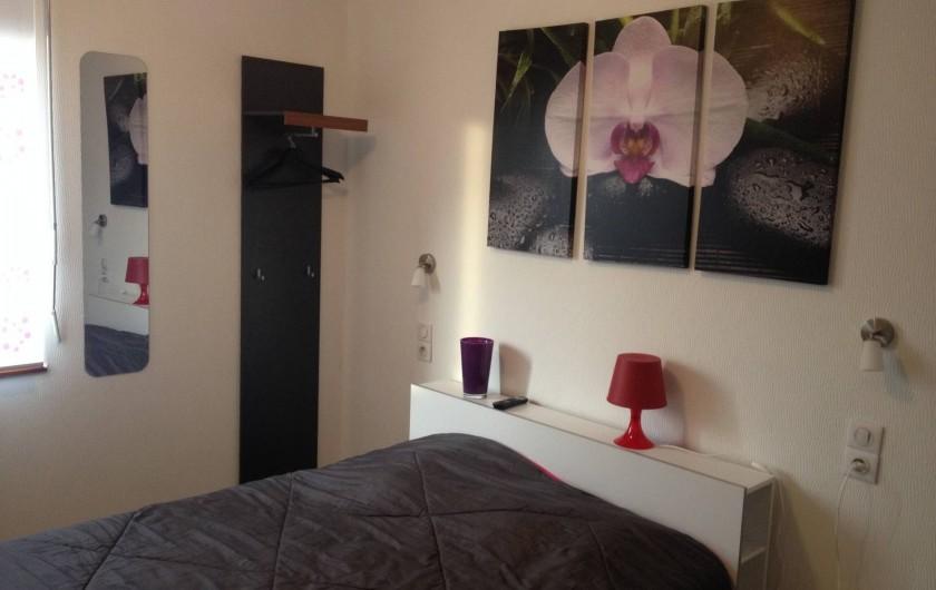 Location de vacances - Appartement à Orschwiller - Chambre 1 Du coté jardin