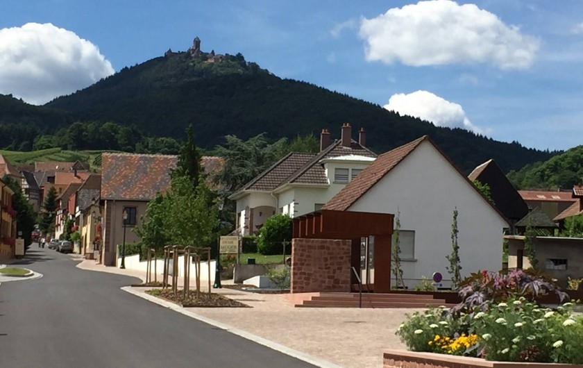Location de vacances - Appartement à Orschwiller - notre village ORSCHWILLER