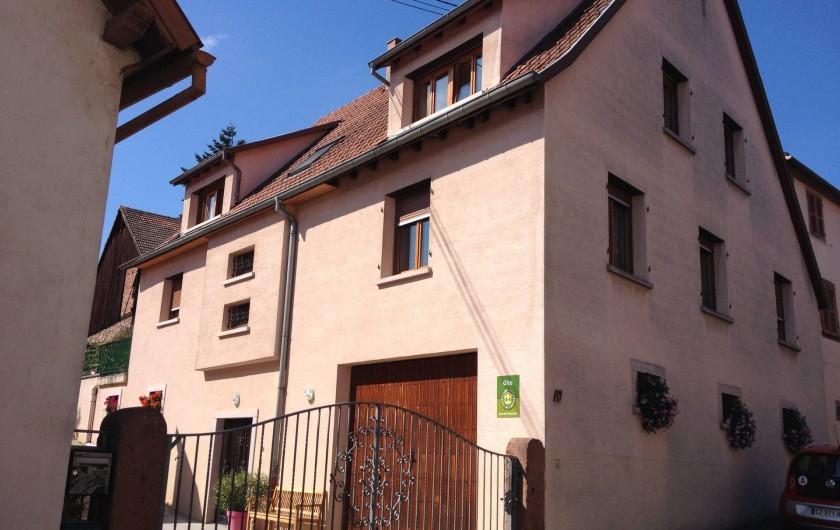 Location de vacances - Appartement à Orschwiller