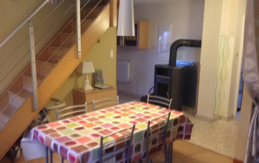 Location de vacances - Appartement à Orschwiller - Coin repas
