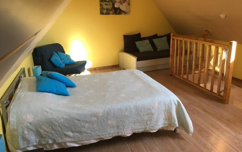 Location de vacances - Appartement à Orschwiller - Chambre du coté Duplex