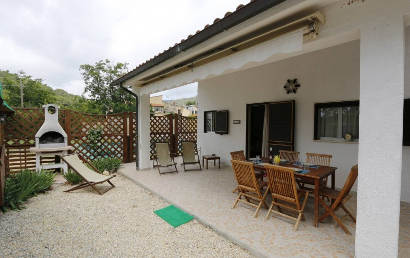 Location de vacances - Appartement à Capoliveri - terrasse app. casina