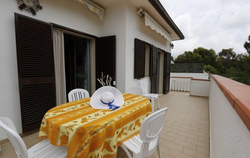 Location de vacances - Appartement à Capoliveri - terrasse app.casetta