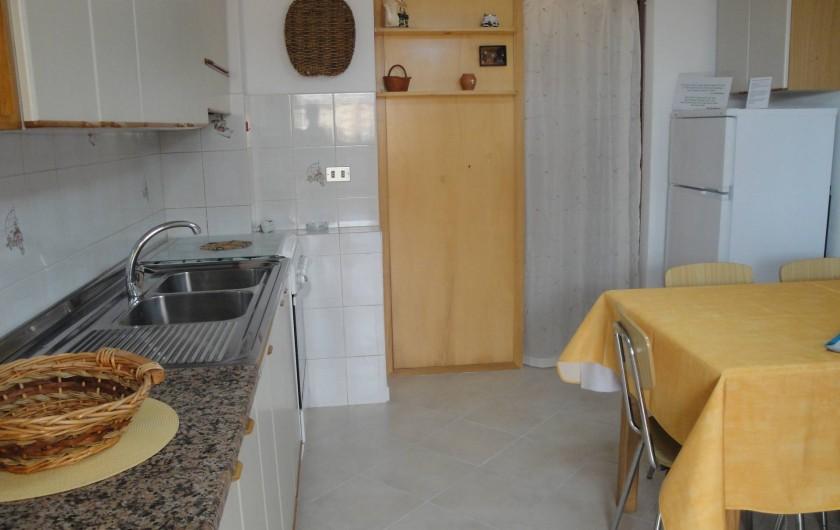 Location de vacances - Appartement à Capoliveri - cuisine app. cas'elen