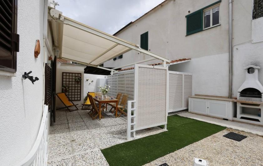 Location de vacances - Appartement à Capoliveri - terrasse app. cas'elen