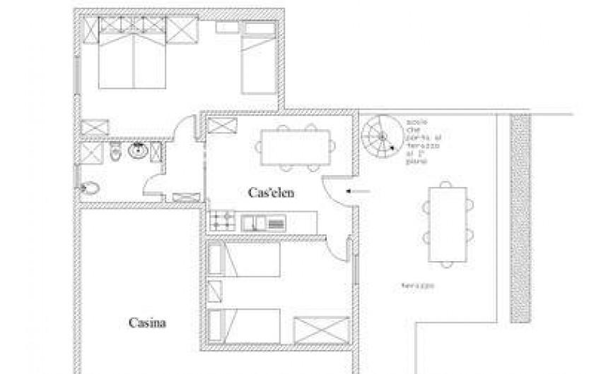 Location de vacances - Appartement à Capoliveri - app. cas'elen