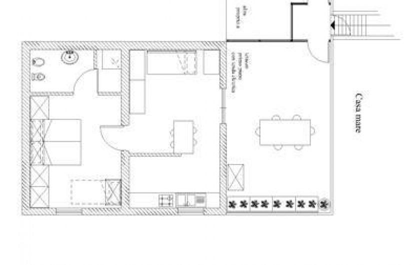 Location de vacances - Appartement à Capoliveri - app. casa mare
