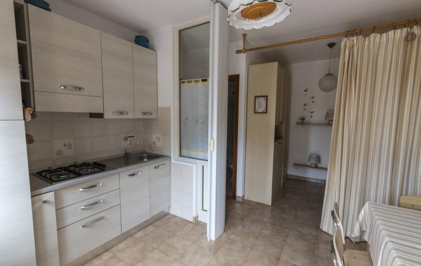 Location de vacances - Appartement à Capoliveri - cuisine casetta