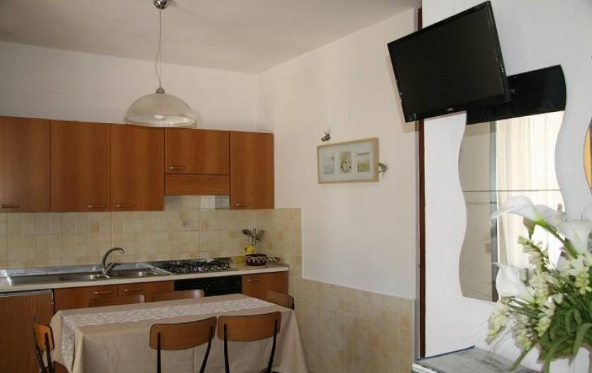 Location de vacances - Appartement à Capoliveri - cuisine app. casina
