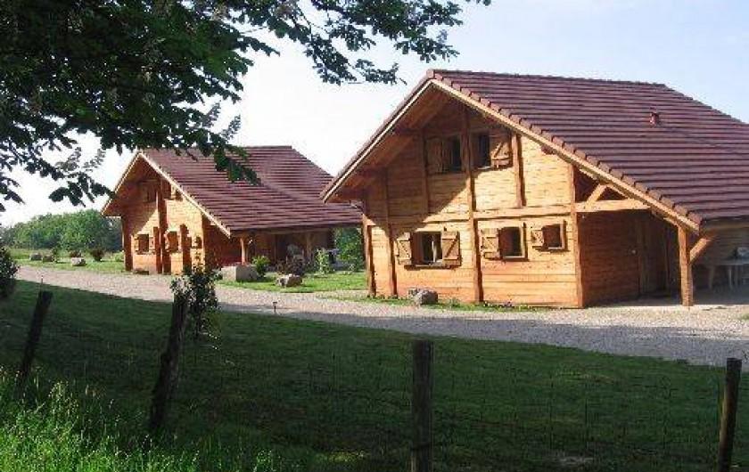 Location de vacances - Chalet à Châtel-sur-Moselle