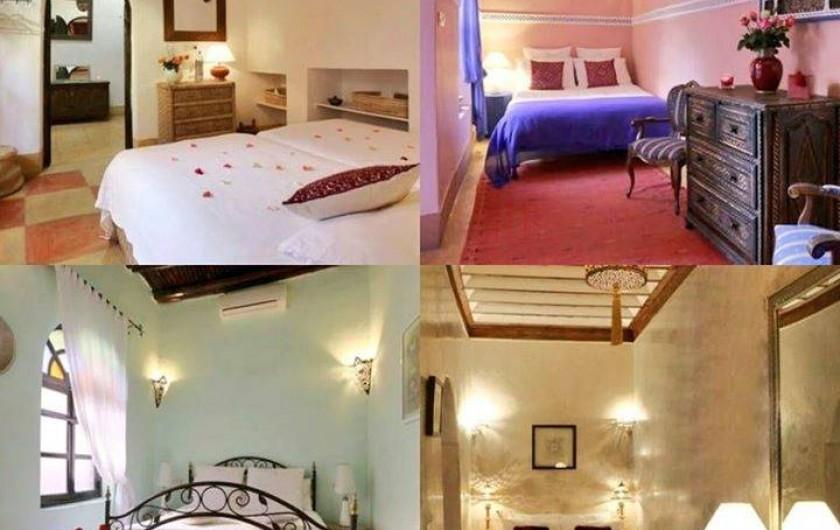 Location de vacances - Riad à Marrakech - Rooms